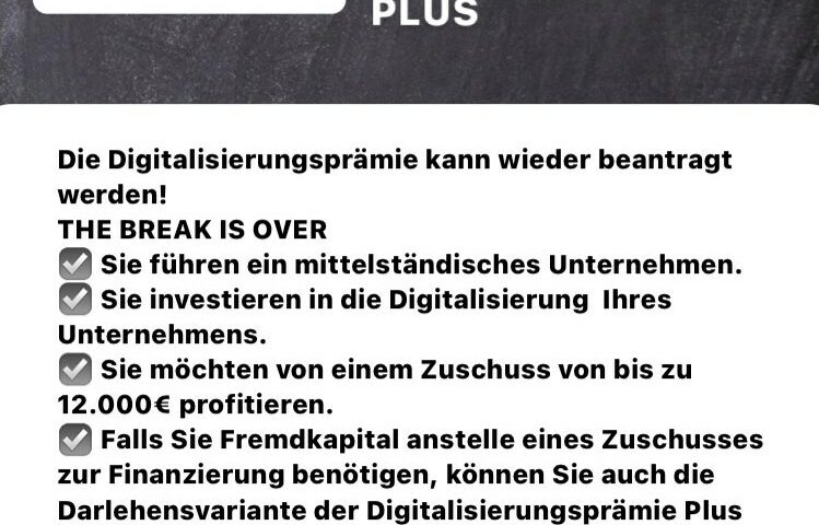 L-Bank Digitalisierungsprämie Plus News
